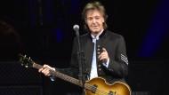 """Musik ist nicht einfach da"", sagt Ex-Beatle Paul McCartney."