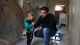 Im Kampf erblindeter Syrer findet neuen Weg