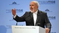 Irans Außenminister Dschawad Zarif