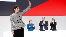 Sie hat die CDU gepackt