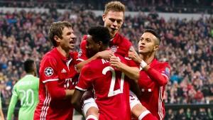 Münchner Gala gegen Eindhoven