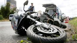 Verhinderte Automaten-Knacker festgenommen – Biker schwer verletzt