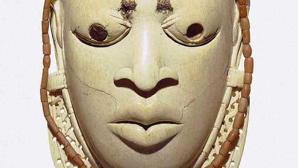 Internetadresse für koloniale Kunst