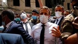 Libanesen bitten Macron um Hilfe für Regierungswechsel