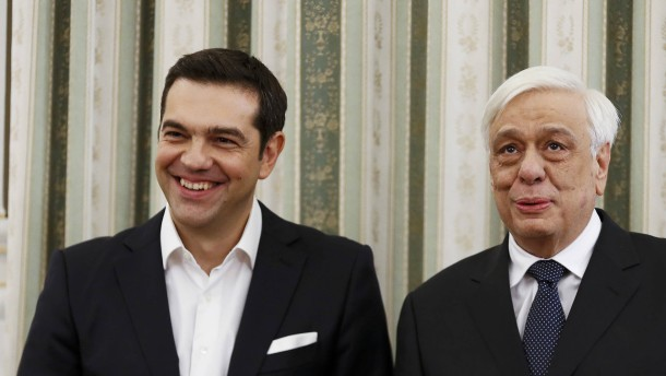 Tsipras als Ministerpräsident vereidigt