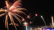 Verboten: Dieses Silvester wird es wohl kein Feuerwerk im Gazastreifen geben.