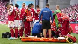 Eriksen wurde mit Elektroschock zurück ins Leben geholt