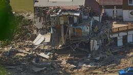 Hochwasserschäden gehen in die Milliarden