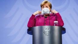 Was sagt Merkel zur Änderung des Infektionsschutzgesetzes?