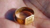 Erinnerungsstück: Auch diesen goldenen Ring fand man in Sobibor