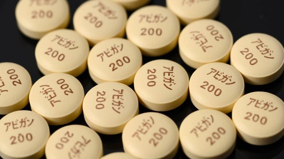 Hoffnungsträger in blassem Gelb: Das Bundesgesundheitsministerium deckt sich mit dem japanischen Grippemittel Avigan ein.