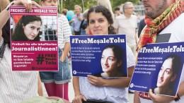Meşale Tolu fordert ihren Freispruch