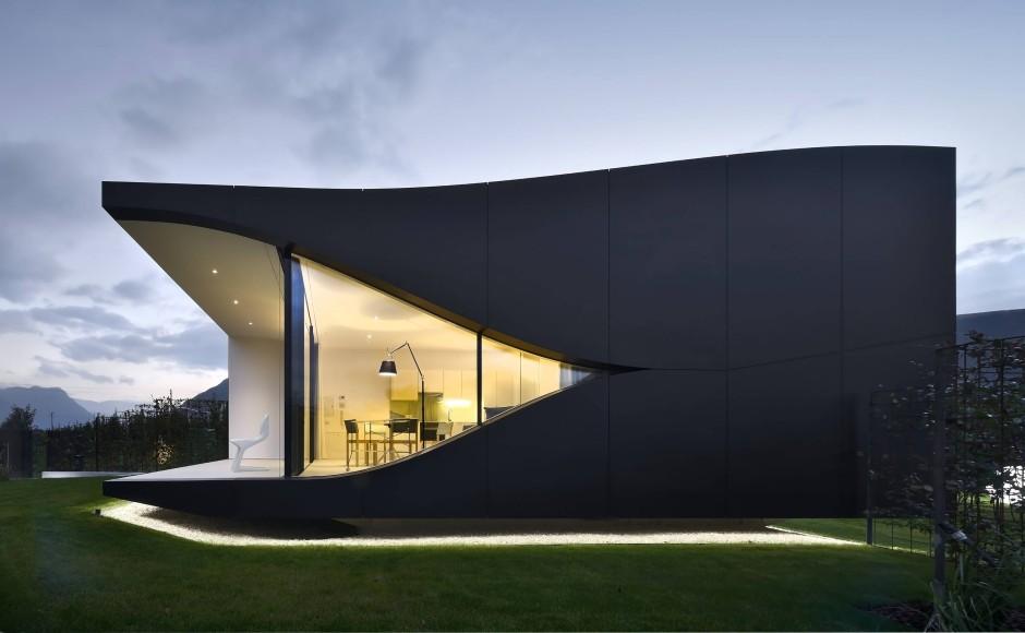 Bilderstrecke zu architektur in s dtirol alpenblick for Moderne bauweise