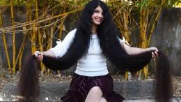 Diese Frau hat die längsten Haare der Welt