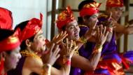 Musik und Tanz im Dorf der tauben Menschen