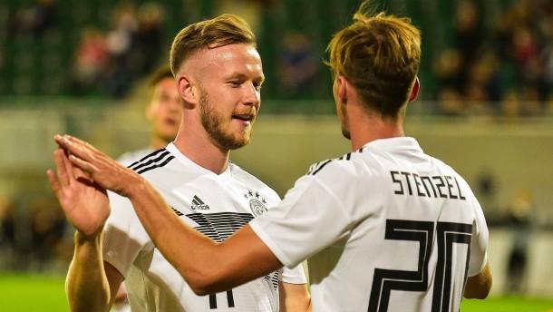 U21-Fußballer so gut wie sicher für die EM 2019 qualifiziert