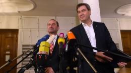 "Kommt die ""Spezi-Koalition""?"