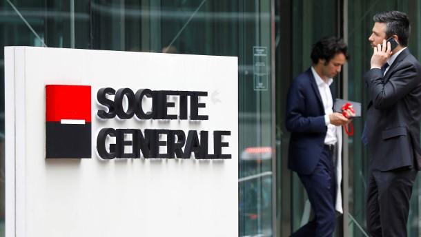 Spekulationen um Unicredit und Société Générale