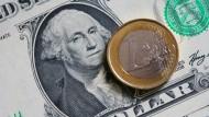 Der Euro droht abzurutschen