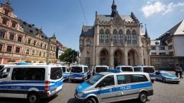 Bombendrohungen gegen Rathäuser