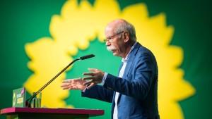 Daimler-Chef Zetsche verteidigt sich bei Grünen-Parteitag