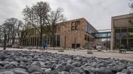 Sprinkleranlage flutet neues Rhein-Main Congress-Center