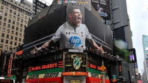 Gareth Bale Of Real Madrid Times Square Billboard