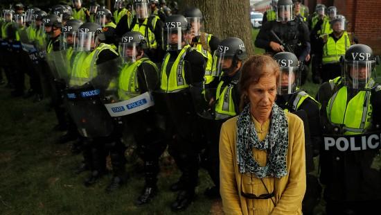 Proteste gegen rechte Gewalt