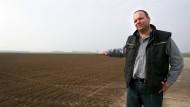Kreislandwirt Matthias Mehl ist wegen der anhaltenden Dürre besorgt.