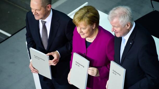 """""""Eine große Koalition, die nicht liefert, macht keinen Sinn"""""""