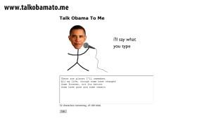 Obama, nur für Sie