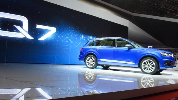 Abgasskandal: Neuer Schock: Auch Audi gesteht Manipulation - Diesel-Affäre - FAZ