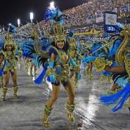 Feierszenen vom Februar: Der nächste Karneval in Rio wird so bald nicht stattfinden.