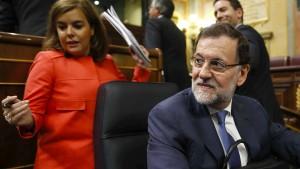 Die Frau hinter Rajoy