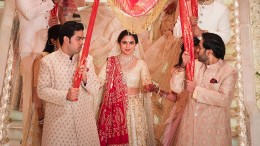 Indische Prunk-Hochzeit für 88 Millionen Euro