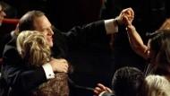 Da war er sich seiner Sache noch sicher: Harvey Weinstein bei der Oscarverleihung 2013.