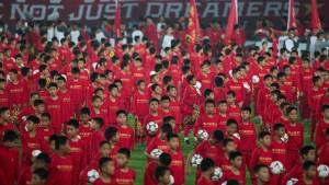 Wie China zur Fußballmacht werden will