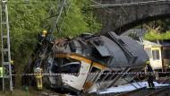 Tote bei Zugunglück im Nordwesten Spaniens