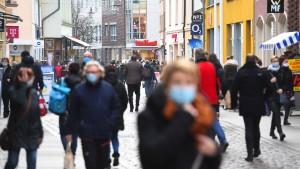 Deutschlands Einwohnerzahl stagniert