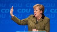 Nein zu Grün: Angela Merkel am Mittwoch auf einer CDU-Regionalkonferenz