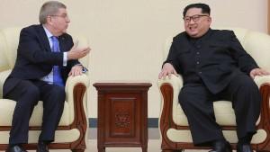 Friedensspiele in Korea?
