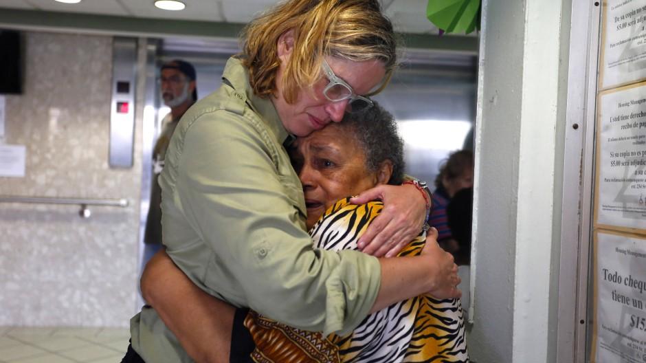 Der Bürgermeisterin von Puerto Rico, Carmen Yulin Cruz (links), wirft Donald Trump schlechtes Management vor.