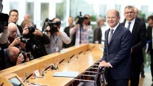 Konflikt mit Finanzminister Scholz eskaliert