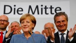 "Deutschland nimmt Kurs auf ""Jamaika"""