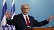 Netanjahus Verunsicherung