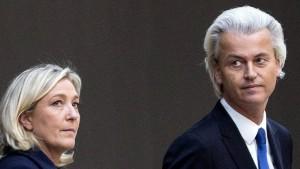 Rechtes Bündnis gegen Brüssel