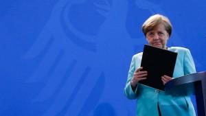 Merkel: Nichts kann und wird uns beim Klimaschutz aufhalten