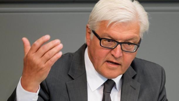 Steinmeier: Abstimmung vor Sommerpause möglich