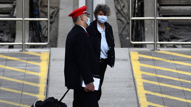 Weder Bahn noch Bundespolizei wollen Maskenpflicht kontrollieren