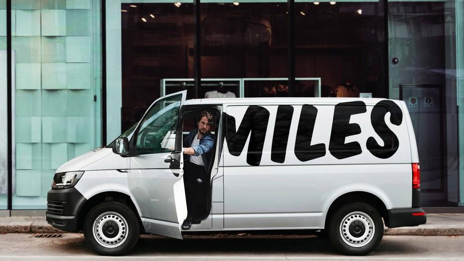 Mit seinen 3000 Fahrzeugen ist Miles die Nummer Drei auf dem deutschen Carsharing-Markt.